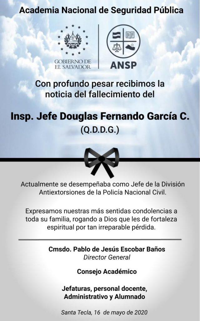 ESQUELA PESAME_IJ DOUGLAS GARCIA